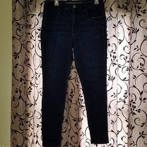 American eagle high-waisted jeggings size 12